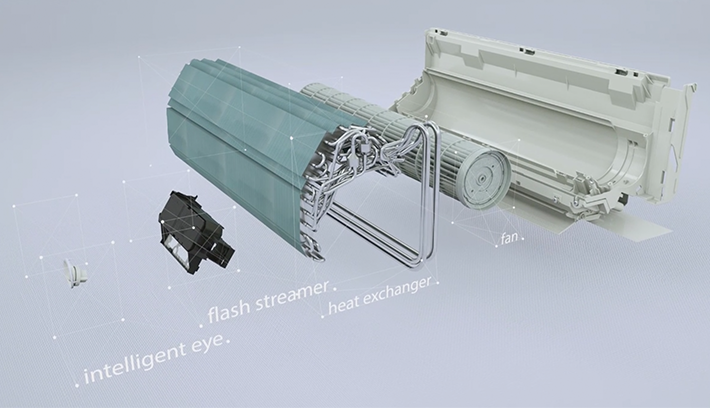 Daikin Flash Streamer