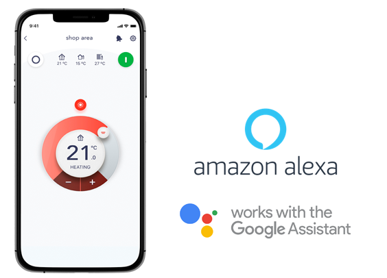 Amazon alexa - Compatível com o assistente google